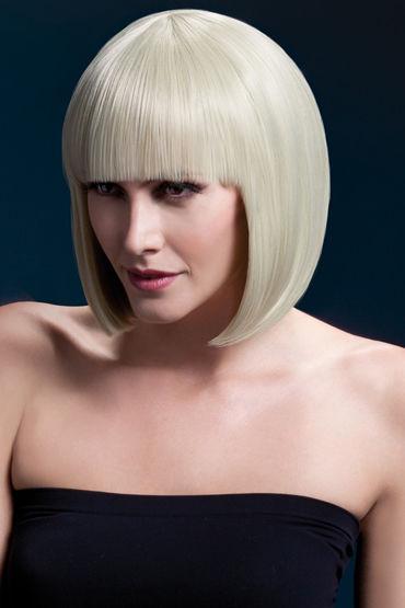 Fever Elise Wig Blonde Парик, стрижка боб fever костюм рабыни с ошейником и манжетами