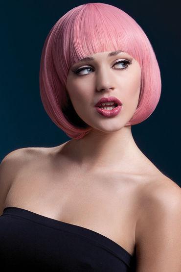 F ever Mia Wig Pastel Pink Парик, стрижка боб к steph wig темно русый с мелированием