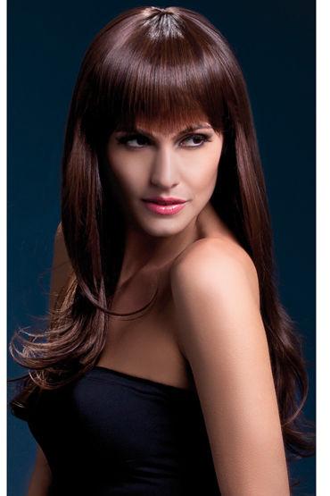 Fever Sienna Wig Brown Парик, с длинными волосами fever костюм рабыни с ошейником и манжетами