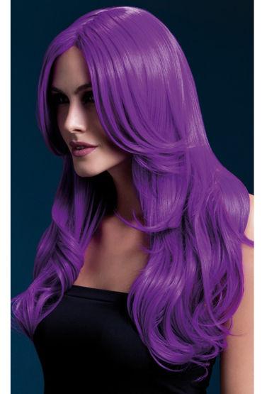 Fever Khloe Wig Neon Purple Парик, с длинными волосами к steph wig темно русый с мелированием