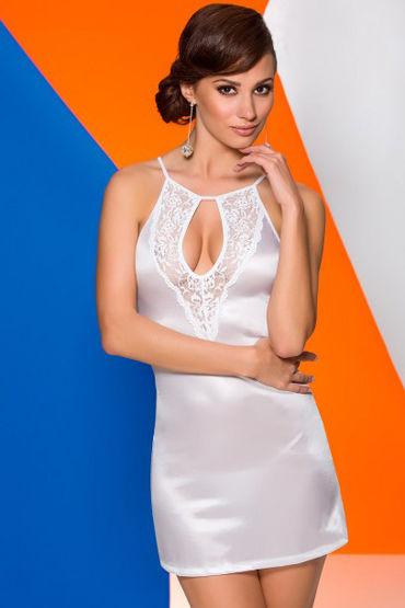 Avanua Catalina Сорочка, белая С кружевными вставками toyfa фаллоимитатор насадка для страпона