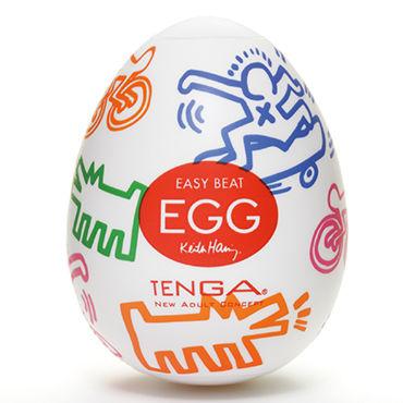 Tenga Egg Street, Keith Haring Edition Одноразовый мастурбатор в виде яйца, лимитированный выпуск фанты шоколад примеры карточек