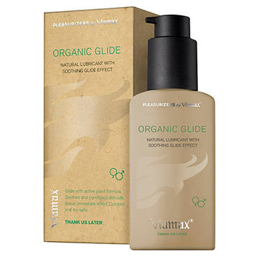 Viamax Organic Glide, 70 мл 100% натуральный увлажняющий лубрикант новичкам в сексшопе для мальчиков