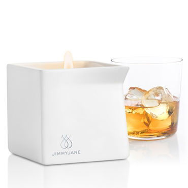 JimmyJane Afterglow Massage Candle Bourbon, 125г Свеча для массажа с ароматом бурбона