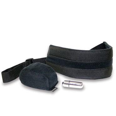 Sex&Mischief Vibrating Doggie Style Strap Пояс для догги-стайл с вибро sitabella стек с листиком черный металлическая рукоять