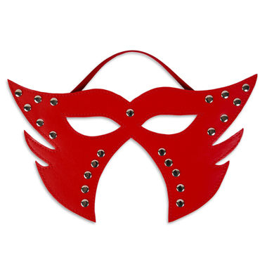 Пикантные штучки Фигурная маска С заклепками