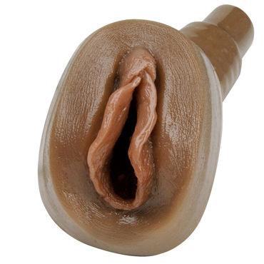 Topco TLC Eves Pussy PleasureSkin Fantasy Dark Реалистичная вагина опытной женщины
