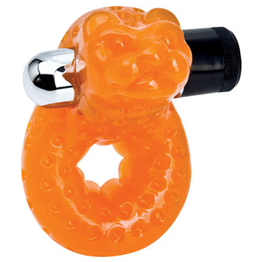 Topco Sex Please! Morozko Vibrating Cock Ring Эрекционное кольцо с вибрацией анальные бусы sex please sexy beads