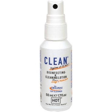 HOT Clean Disinfecting  Cleaning Lotion, 50 мл Дизенфицирующий и очищающий спрей