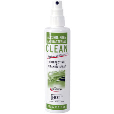 HOT Clean Disinfecting  Cleaning Spray, 150 мл Дизенфицирующий и очищающий спрей