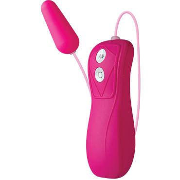 Doc Johnson iVibe Select iBullet, розовая Вибропуля с выносным пультом вибромассажер хай тек ivibe select irabbit purple фиолетовый
