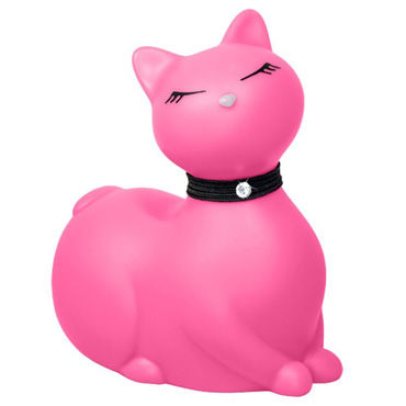 Bigteaze Toys I Rub My Kitty, розовый Вибратор-кошка с baile pretty love silicone anal balls черные
