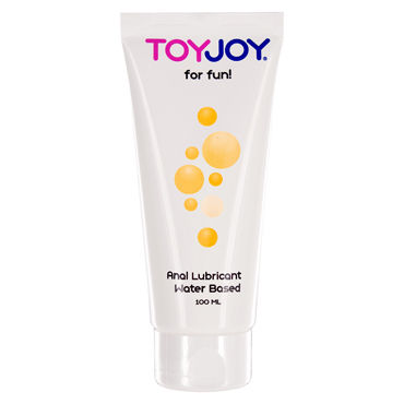 Toy Joy Anal Lube Waterbased, 100 мл Анальный лубрикант на водной основе 2 maison close jardin imperial porte jarretelles de la
