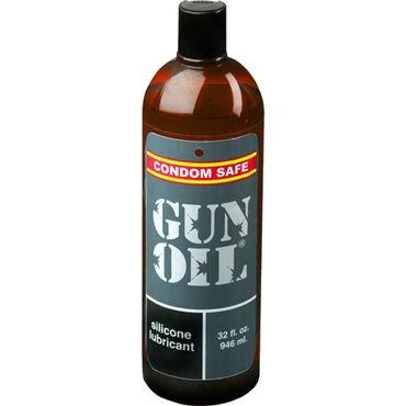 Mister B Gun Oil Silicone, 950 мл Мега-длительная силиконовая смазка mister b lycra hood eyes open only черная маска на голову