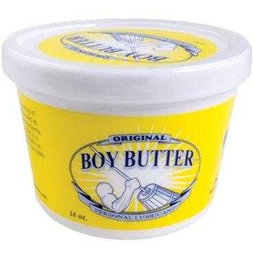 Mister B Boy Butter, 473 мл Лубрикант на основе масла baci g стринги розовые с ромбовидным узором и кружевом