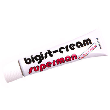 Inverma Bigist Cream Superman, 18 мл Крем для увеличения полового члена toyfa кольцо зеленое гелевое
