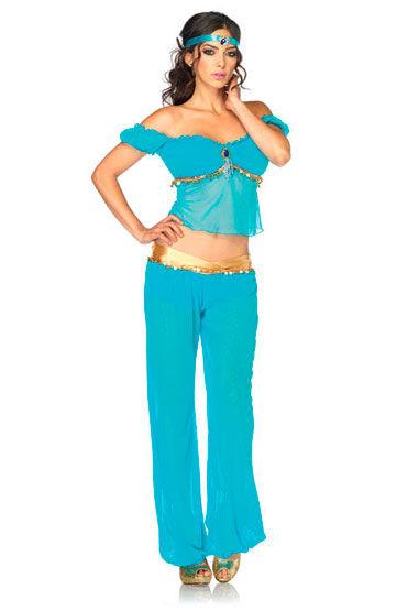 Leg Avenue Принцесса Востока Топ, шаровары и повязка на голову gopaldas butterfly massager розовый клиторальный стимулятор с вибрацией
