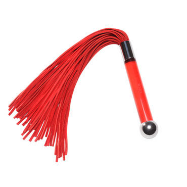 Lelo Sensua, красный Замшевая плеть для страстных игр ивыь арсенал дизайнерская плеть серебристая х