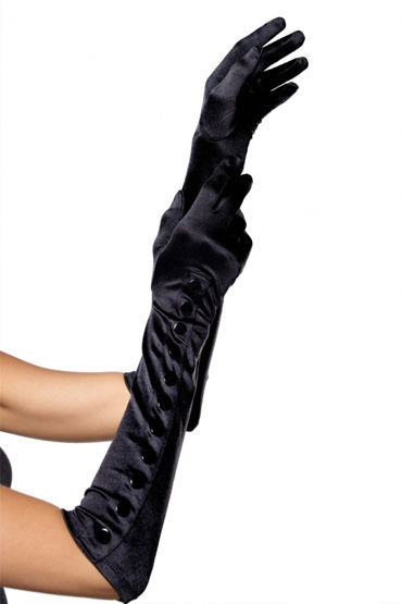 Leg Avenue перчатки Длинные, на кнопочках d leg avenue комплектации