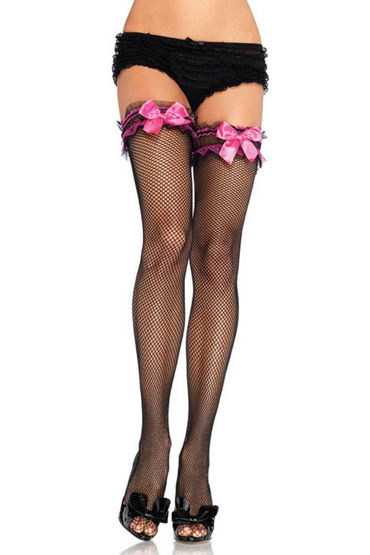 veneziana calze lolita телесные чулки с бантиками на задней поверхности Leg Avenue чулки С яркими бантиками