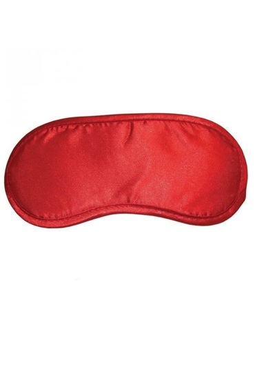 Sex & Mischief Satin Blindfold, красный Из искусственного шелка sex mischief bed bondage restraint kit