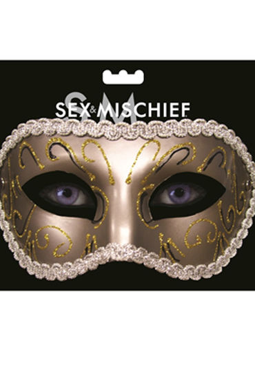 Sex & Mischief Masquerade Mask Роскошная маска ouch phantom masquerade mask черная маскарадная маска