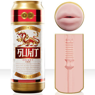 FleshLight Sukit Draft, Мастурбатор-ротик в банке