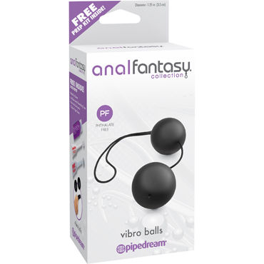 Pipedream Anal Fantasy Collection Vibro Balls Анальные шарики, пластиковые erotic fantasy total leatherette whip кнут