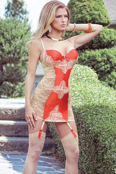 Coquette сорочка С атласной вставкой платье coquette с леопардовыми вставками s