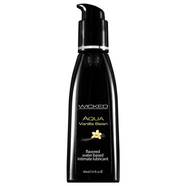 Wicked Aqua Vanilla Bean, 60 мл С ароматом ванильных бобов wicked aqua candy apple 60 мл жидкости