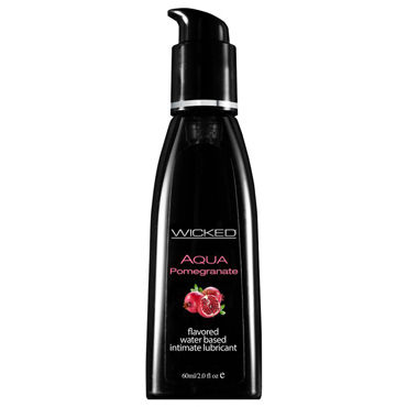 Wicked Aqua Pomegranate, 60 мл С ароматом граната w wicked aqua candy apple 60 vk