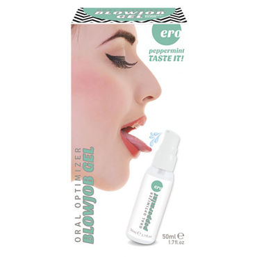 Hot Ero Blowjob Gel Peppermint, 50 мл - фото, отзывы
