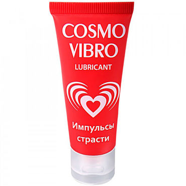 Bioritm Cosmo Vibro, 25 гр Стимулирующий лубрикант для женщин вкусовое массажное масло dona kissable massage oil vanilla buttercream 125 мл