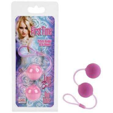 California Exotic First Time Love Balls, розовый Вагинальные шарики