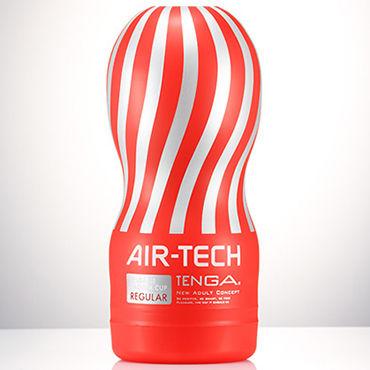 Tenga Air-Tech Regular Мастурбатор с классическим рельефом, создающий ощущение глубокого минета tenga air tech vacuum controller compatible regular мастурбатор имитирующий оральные ласки совместимый с tenga vacuum controller