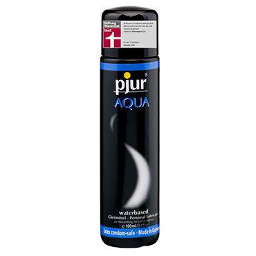 Pjur Aqua, 100 мл Сверхмягкий увлажняющий лубрикант очищающий антибактериальный спрей pjur®woman toyclean 100 ml