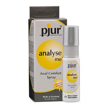 Pjur Analyse Me, 20 мл Обезболивающий анальный спрей bdsm арсенал двухстороння маска коричневая с металлическими заклепками