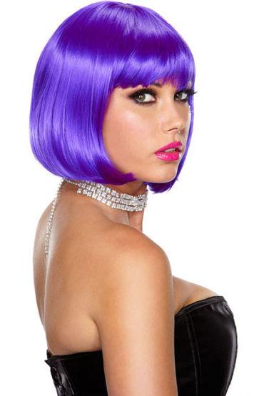 Erotic Fantasy Playfully Passion Фиолетовый парик-каре силиконовый черный кляп шарик erotic fantasy на ремне black ballgag