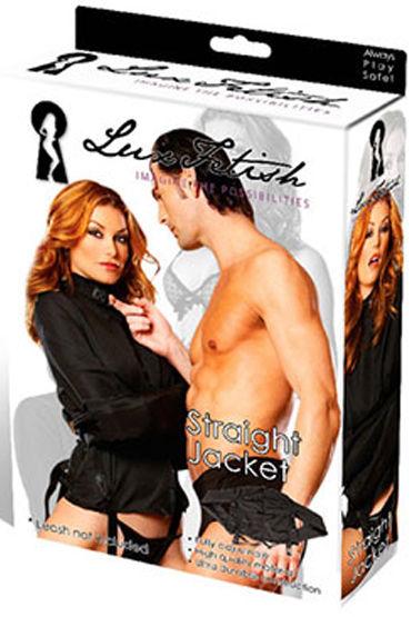 Lux Fetish рубашка Смирительная рубашка candy girl боди чёрное с открытой спинкой