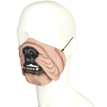 Lux Fetish Dog Mask В виде собаки