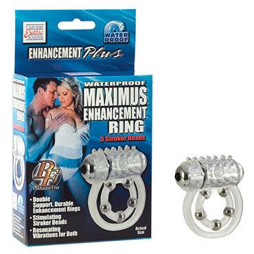 California Exotic Maximus Ring 5 Stroke Beads Эрекционное кольцо с виброэлементом