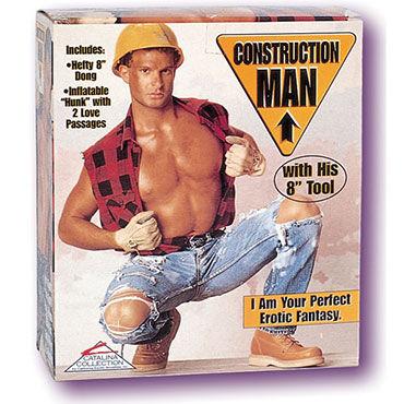California Exotic Construction Man Кукла-мужчина с фаллоимитатором