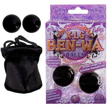 Doc Johnson X-Large Ben Wa, черный Вагинальные шарики для тренировки мышц