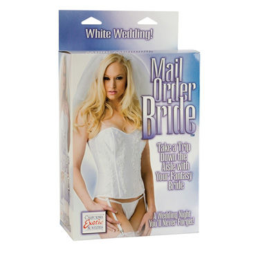 California Exotic Mail Order Bride Любовная кукла-невеста s line beasty toys wicked walrus виброкольцо в виде моржа