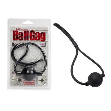 California Exotic Silicone Ball Gags Кляп из силикона черный