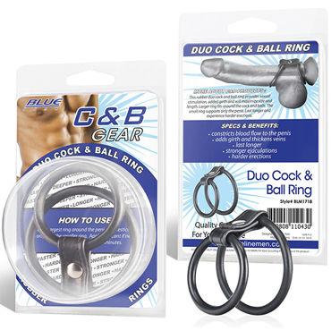 BlueLine Blue Line эрекционное кольцо На пенис и мошонку