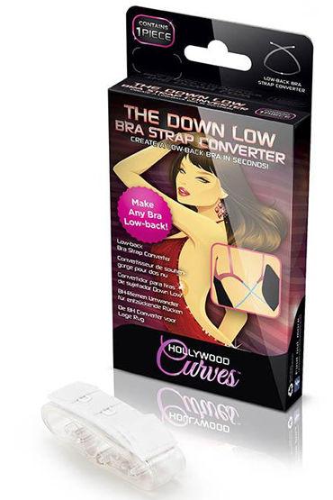 Hollywood Curves Bra Strap Converter, белый Бретели-удлинители к hollywood curves bra strap converter черный