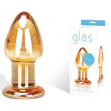 Glas Over Easy Стеклянная анальная пробка glas europa пробка гламурная с узорами