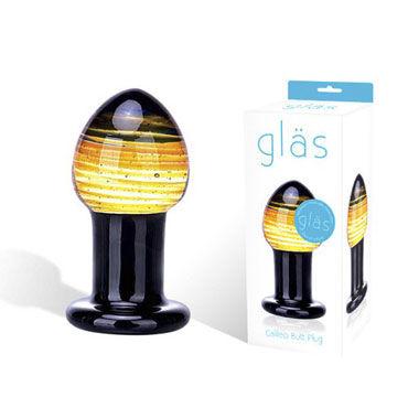 Glas Galileo Стеклянная анальная пробка t glas purple pacifier