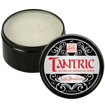 California Exotic Tantric Tasty Strawberry Ароматическая свеча для массажа